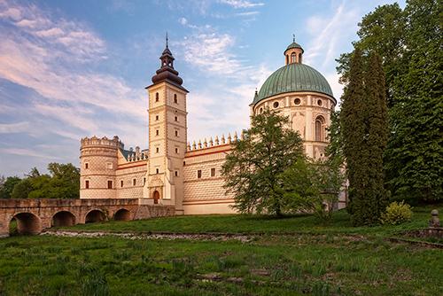 Krasiczyn, zamek