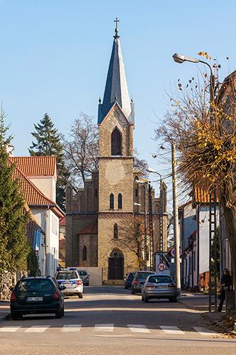 Barczewo kościół