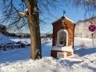 Brąswałd, kapliczka we wsi