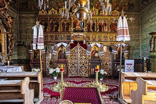 Uście Gorlickie, wnętrze cerkwi