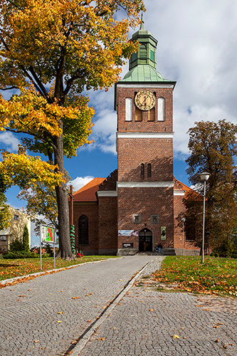Węgorzewo, kościół