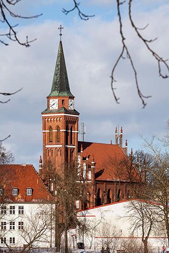 Szczytno kościół ewangelicki