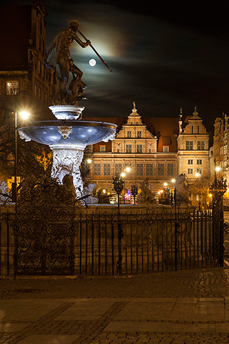 Gdańsk fontanna Neptuna