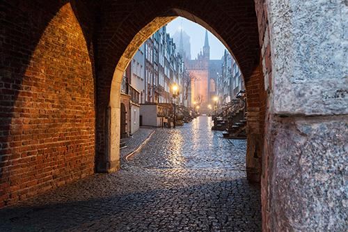Gdańsk, ulica Maricka