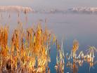 Mróz i jezioro