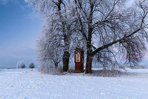 Kapliczka na Warmii