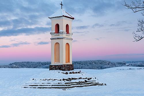 Kapliczka w Gietrzwałdzie