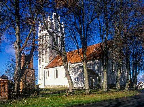 Babiak kościół gotycki