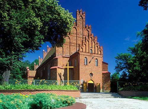 Bartoszyce kościół gotycki