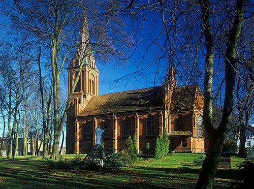 Bartoszyce, kościół z 1882 roku