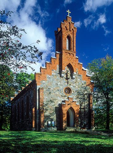Dąbrówno kościół