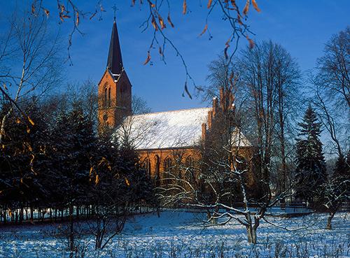 Dźwierzuty kościół