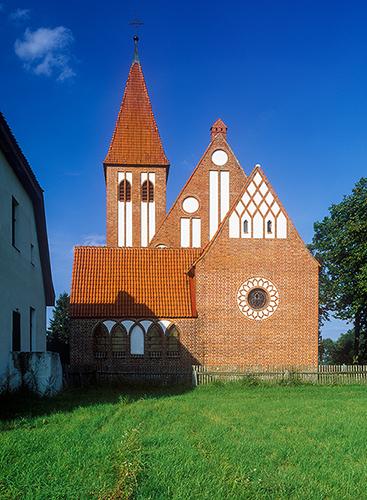 Gawrzyjałki kościół