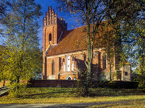 Łabędnik kościół