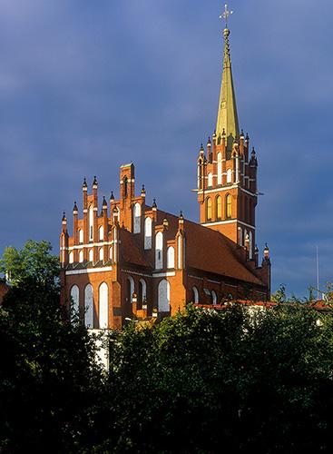 Kętrzyn kościół