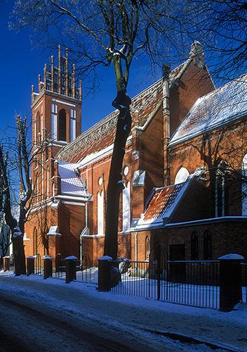 Mrągowo kościół
