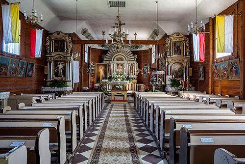 Boleszyn wnętrze kościoła