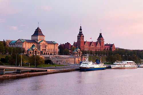 Szczecin Wały Chrobrego