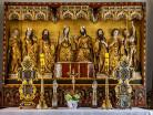 Kartuzy ołtarz gotycki