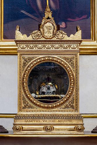 Janów Podlaski relikwiarz