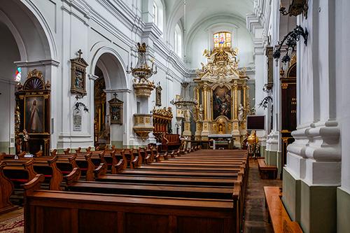 Janów Podlaski barokowy kościół