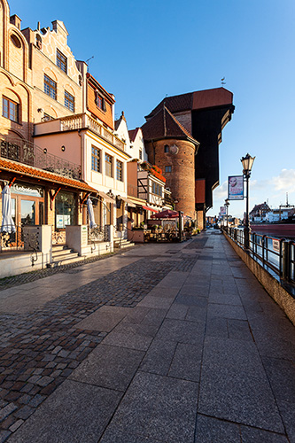 Gdańsk nabrzeże