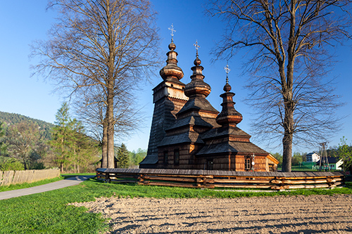 Kwiatoń drewniana cerkiew