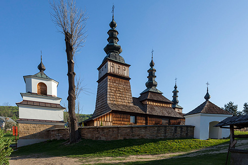 Owczary drewniana cerkiew