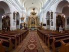 Janów Podlaski wnętrze kościoła
