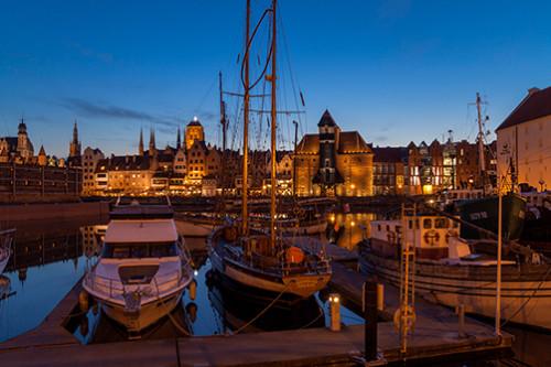 Gdańsk port jachtowy