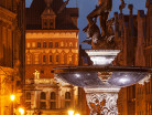 Gdańsk starówka nocą