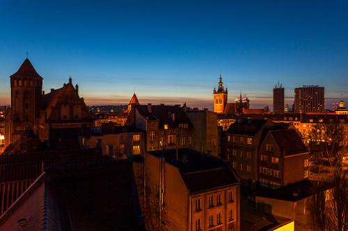 Gdańsk dachy