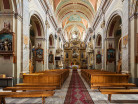 Tarnogród wnętrze kościoła