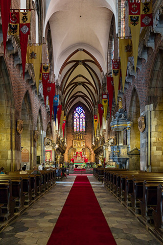 Wrocław wnętrze katedry