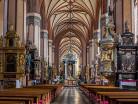 Frombork wnętrze katedry