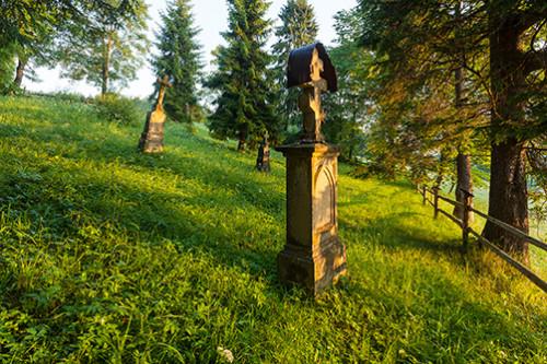 Wojkowa cmentarz