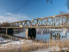 Mikołajki most kratownicowy