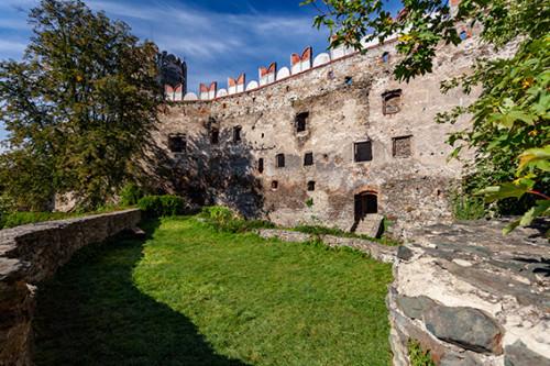 Bolków zamek z XIII wieku