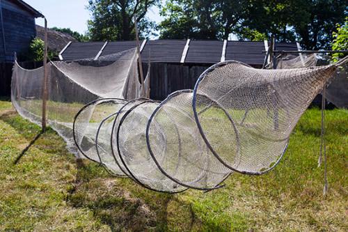 Kluki sieci rybackie