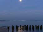 Morze przy księżycu